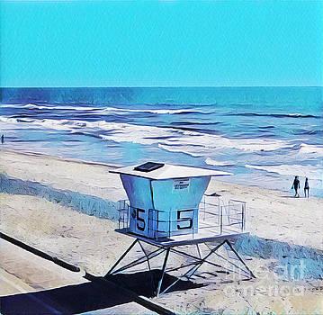 Station 5 Oceanside California 2  by Tammera Malicki-Wong