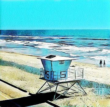 Station 5 Oceanside California  by Tammera Malicki-Wong