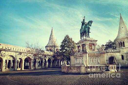 Statue of St. Stephen by Jelena Jovanovic