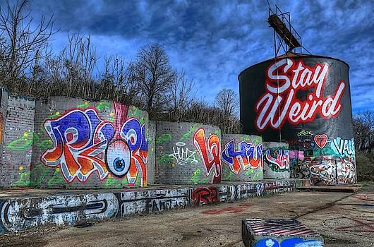 Stay Weird Asheville by Carol Montoya
