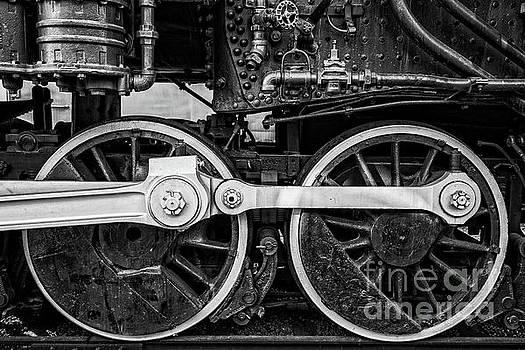 Steam Locomotive Detail by Edward Fielding
