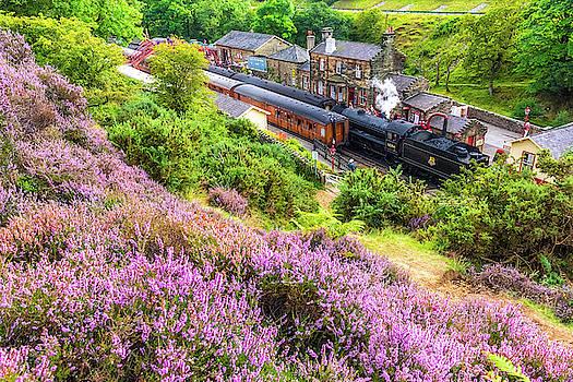 David Ross - Steam train at Goathland, North York Moors