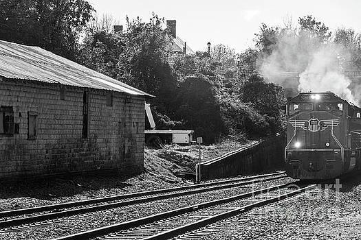 Steaming Down the Tracks by Terri Morris