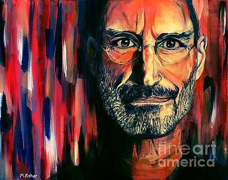 Steve Jobs by Marissa Fisher