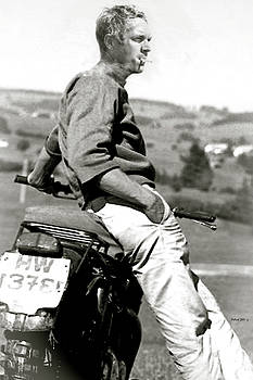 Steve McQueen, the Great Escape, the King of Cool by Thomas Pollart