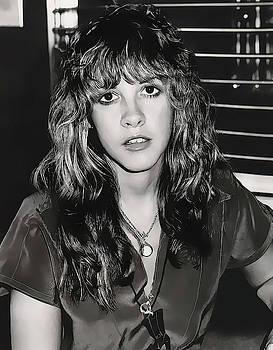 Stevie Nicks Portrait 1977 by Daniel Hagerman