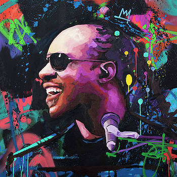 Stevie Wonder II by Richard Day