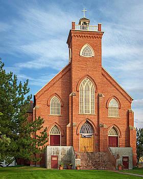 St. Ignatius Mission by David Sams