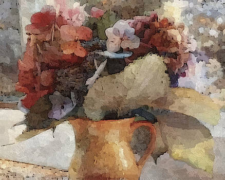 Still Life - Hydrangeas by Don Berg
