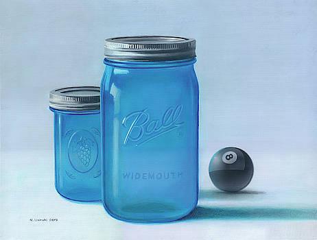 Still Life with 8-Ball by Norb Lisinski