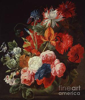 Johannes or Jan Verelst - Still Life with Flowers by Johannes or Jan Verelst