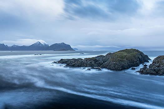 Still rocks in the storm by Kai Mueller