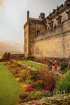 Stirling Castle Gardens by Elizabeth Dow