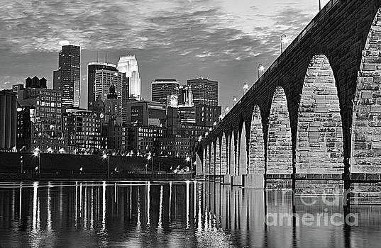 Wayne Moran - Stone Arch Bridge Minneapolis BW V1