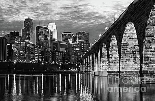 Wayne Moran - Stone Arch Bridge Minneapolis Bw V3
