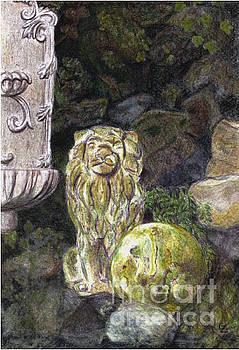Stone Lion by Glenda Zuckerman