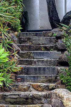 Stone Stairs by Shawn Jeffries
