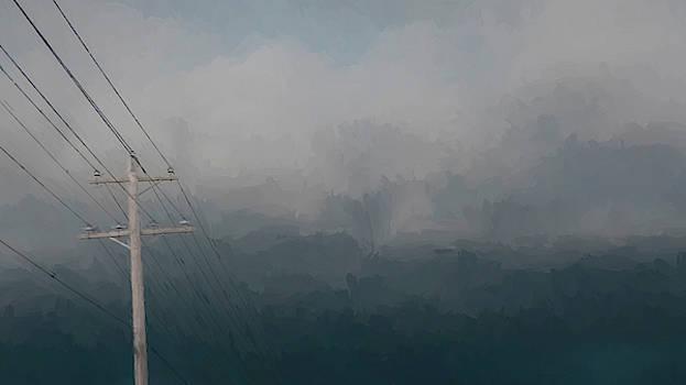 TONY GRIDER - Storm Cloud Lines Left View