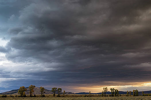 Tibor Vari - Storm Clouds Over Grand Teton NP