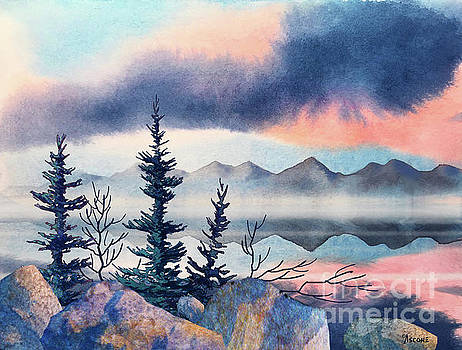Storm Clouds by Teresa Ascone