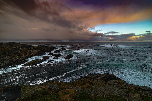 Storm Coastline by Kai Mueller