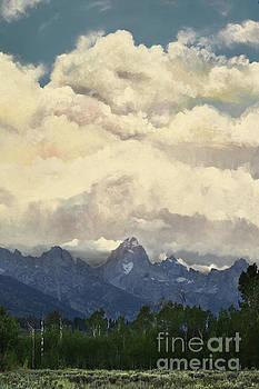 Storm in the Tetons by Suzette Kallen