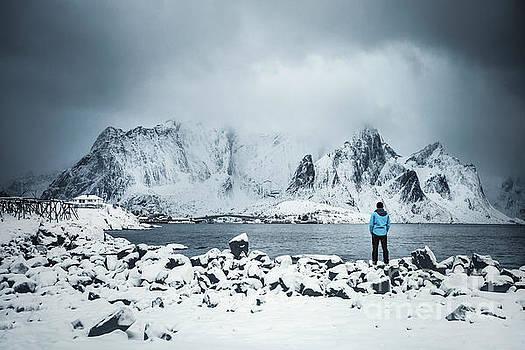 Storm Of Solitude by Evelina Kremsdorf