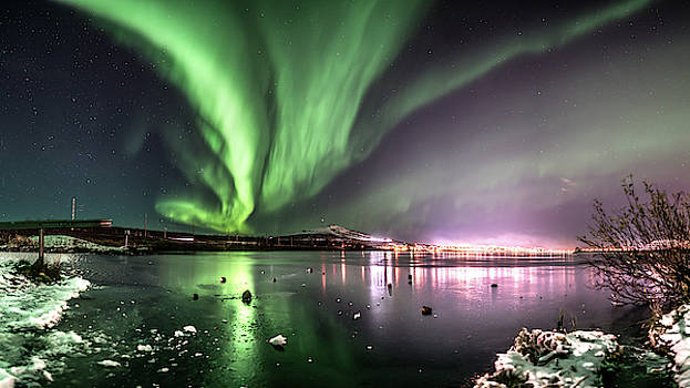 Storm over Kiruna by Mia Stalnacke
