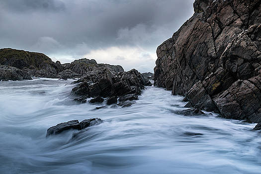 Stormy coastline ND Filter by Kai Mueller