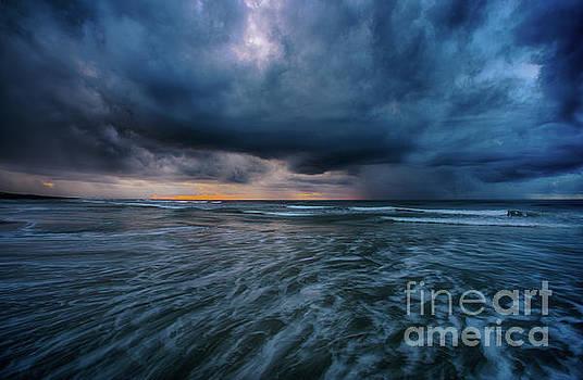 Stormy Morning by David Smith