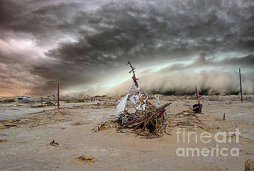 Stormy Ship by Sherry Little Fawn Schuessler