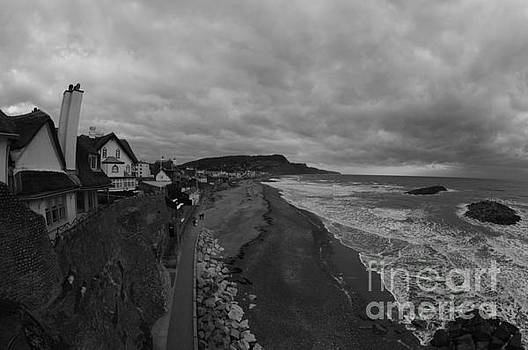 Stormy Sidmouth by Andy Thompson