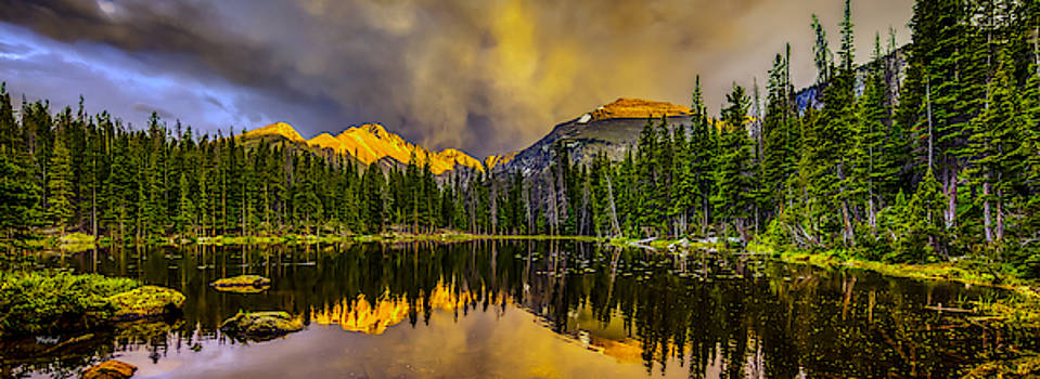 Stormy Sunset by Fred J Lord