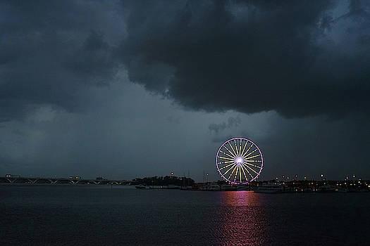 Stormy Wheel by David Posey