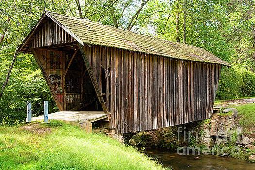 Bob Phillips - Stovall Mill Covered Bridge and Chickamauga Creek