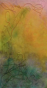 Strands Of Time Float Into The Mist by Donna Blackhall
