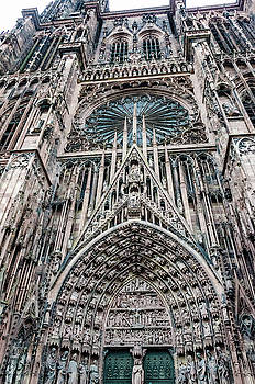 Strasbourg Cathedral by Paul Croll