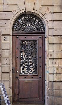 Strasbourg Door 11 by Teresa Mucha
