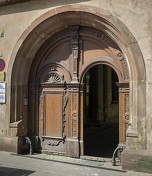 Strasbourg Door 14 by Teresa Mucha