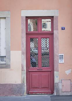Strasbourg Door 16 by Teresa Mucha