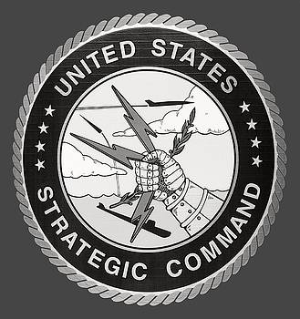 Daniel Hagerman - STRATEGIC AIR COMMAND LOGO - T-SHIRT