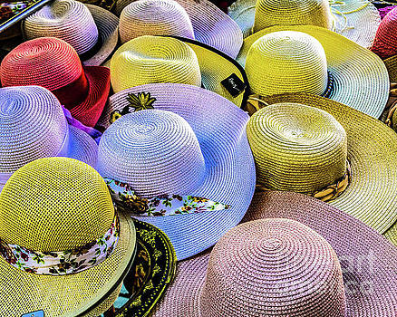 Straw Hats by Thomas Marchessault