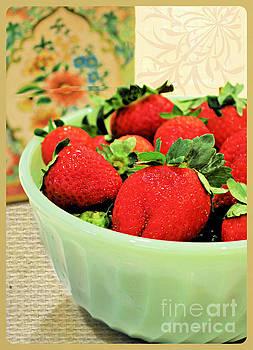 Diann Fisher - Strawberry Bowl
