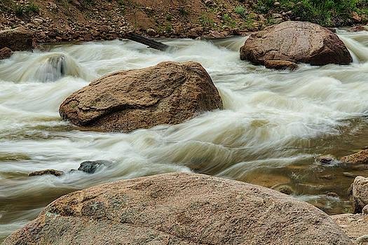 Streaming Colorado Rocky Mountains by James BO Insogna