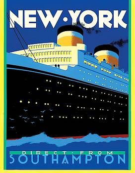 Streamliner NY Wall Art by Brian James