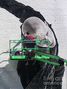 Street Art Painter by Dave Mills
