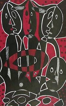 Street Children II by Edward Kofi Louis