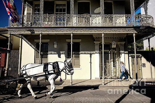 Street of New Orleans, Louisiana by Felix Lai