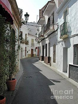 Street scene, Nerja by John Edwards