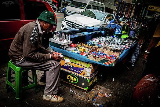 Street Seller by Vladan Radulovic